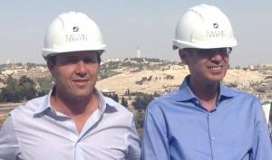 """השר לוין: """"אנו בונים בירושלים מלונות ולא חומות"""""""