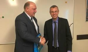 שר התיירות נפגש עם שגריר רוסיה בישראל
