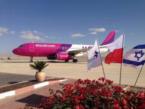 לראשונה, מטוס Wizz Air נוחת בשדה התעופה עובדה